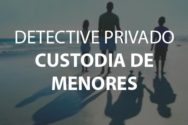 Detective Madrid Custodia de Menores